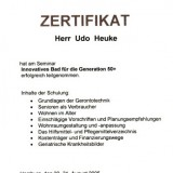 Zertifikat Innovatives Bad 50+